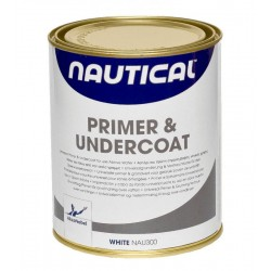 PRIMER AND UNDERCOAT (WHITE) 2.5LT
